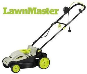 "USED LAWNMASTER 15"" ELECTRIC MOWER 10 AMP - LAWNMOWER LAWN MAINTENANCE TRIMMING YARD CUTTING 80102744"