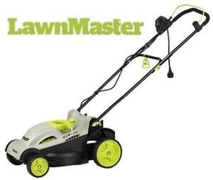 """USED LAWNMASTER 15"""" ELECTRIC MOWER MEB1014M 187892252 10 AMP LAWNMOWER GRASS"""