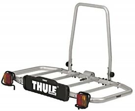 Thule Tow Ball Mounted Load Carrier - with Accessory to make into a 2 Bike Carrier.