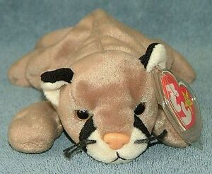 Canyon the Cougar Ty Beanie Baby stuffed animal