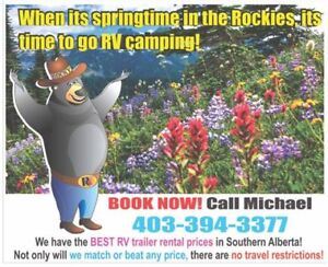RV Trailer Rentals - the best way to explore the outdoors!