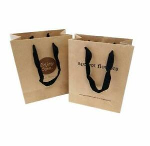 Grocery Paper Bag/Shopping Paper Bag/Logo Printing Paper Bag/Laminated Paper Bag/Customize Paper Bag