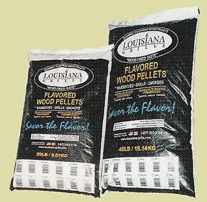 Louisiana Grills - Wood Pellets Available in 20 & 40 Lb Bags