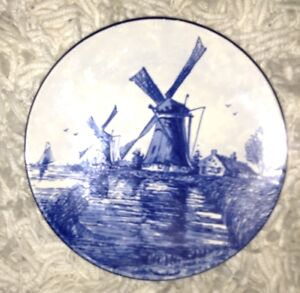 Dutch collector plate for sale