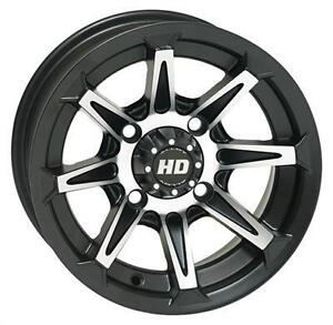 New STI HD2 ATV Wheels, 14x7, 4/115 Bolt Pattern for Arctic Cat