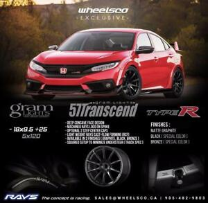 Gram Lights 57Transcend CIVIC TYPE-R FITMENT SALE!