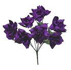 Purple Silk Wedding Flowers, Petals & Garlands