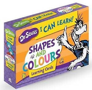 Dr Seuss Learning Cards - Shapes And Colours