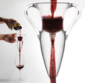 DECANTUS DELUXE WINE AERATOR BY THE GLASS WINE DECANTER - VOTED MARKET BEST