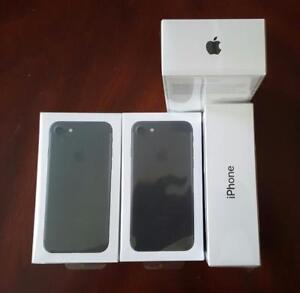 Brand New Sealed/Factory Unlocked iPhone 7 32GB Matte Black, Full 1 Year Apple Warranty, $750 Firm!!***WE SELL GENUINE