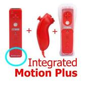 Red Wii Remote Motion Plus