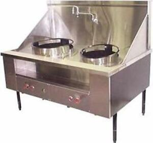 Gas Wok Range - Custom Made -- Made in Canada - New