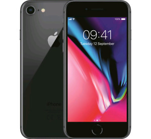 iPhone 8  with Apple warranty 100% battery