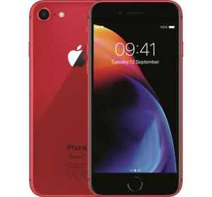 Apple iPhone 8 (RED) 64 Gb Brand new sealed with 1 year man wty