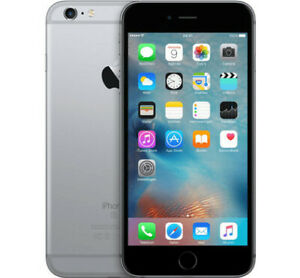 UNLOCKED Space Grey Apple iPhone 6S Plus with 2 Cases