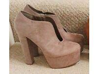 suede heels size 6