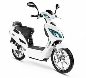 Ebike Scooter - Ecoped Pulse White