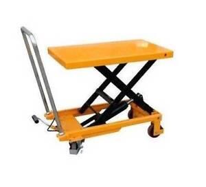 Scissor Table Trolley 300kg 880mm Lift