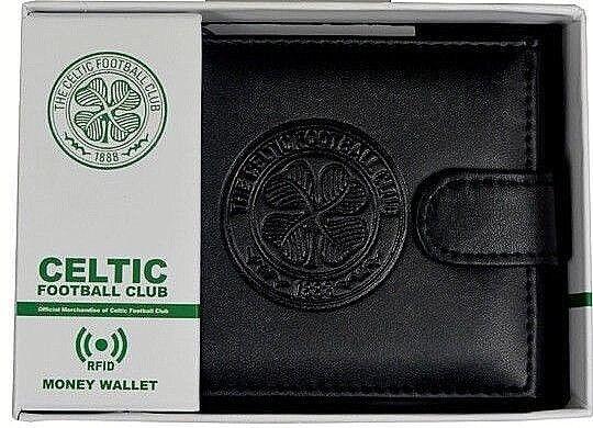 Celtic FC Rfid Echtleder Fußball Sport Geldbeutel Geldbörse CFC Geschenk