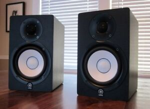 yamaha ns10. yamaha hs50m monitors ns10