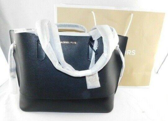Michael Kors Trista Leather Drawstring Tote Shoulder Bag Wit
