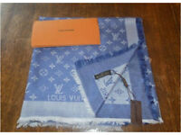 Louis Vuitton Monogram Square Shawl Brand New With Tags & Receipt