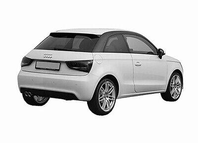 Auto-Sonnenschutz Scheiben-Tönung Sonnenblenden AUDI A1 Sportback Typ GB ab 18