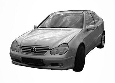 3D Tönungsfolie VORGEWÖLBT Mercedes C Klasse Coupe CL203 Bj 2000-2008