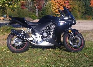 Honda CBR500RA - Black
