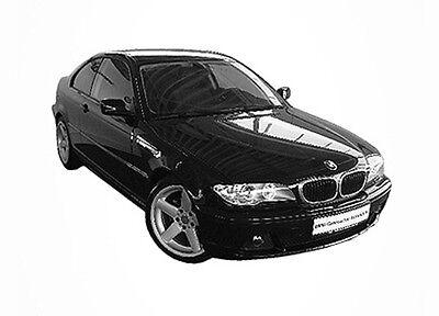 Passgenaue Tönungsfolie Bmw 3Er E46 Compact Bj 2001-2004 Phantom 85
