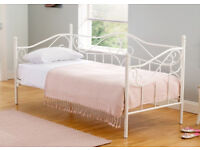 Beautiful AS NEW French Style Metal Day Bed from NEXT