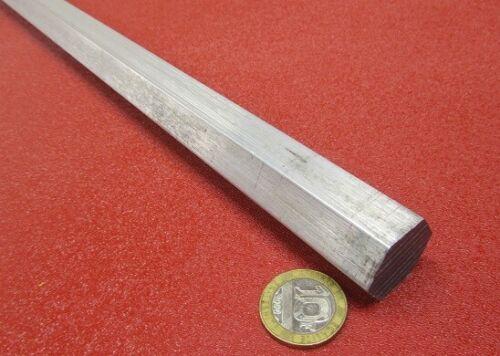"2024 Aluminum Hex Rod 7/8"" Hex x 6 Ft Length"