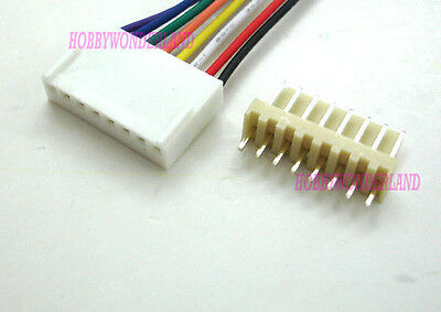 Kf2510 2.54 8-pin Female Housing Connector Plug Wire Male Pcb Header 5 Sets