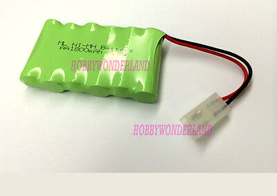 7.2V AA Ni-MH 1800mAh (1 * 6 ) AA Battery for RC Toy Boat Car Truck Tank x 1