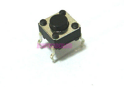 6 X 6 X 4.3mm Micro Momentary 4-way Tact Tactile Push Button Tiny Switch X 20