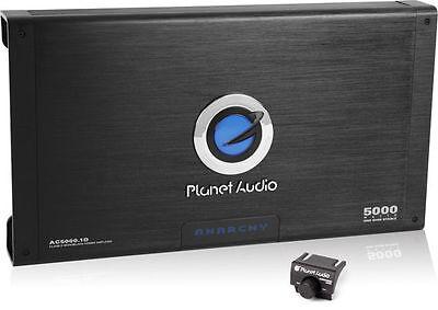 Planet Audio Ac5000 1D 5000W Monoblock Anarchy Class D Power Car Amplifier Amp