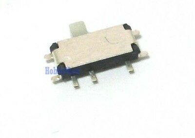 2.7mm X 6.7mm 7 Pos Micro Miniature Horizontal Slide Smd Tiny On Off Switch X 10
