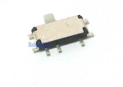 2.7mm X 6.7mm 7 Pos Micro Miniature Horizontal Slide Smd Tiny On Off Switch X 10