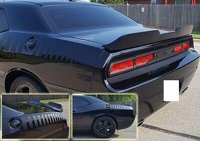 Fits Dodge Challenger 2008-2014 Demon Style Rear Decklid Flush Spoiler Unpainted