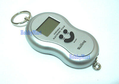 1 x Portable Electronic Scale 40kg X 10g Digital LCD display easy to carry