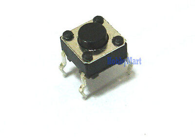 Tiny Momentary 6 X 6 X 4.3mm Micro 4 Pos Tact Tactile Push Button Switch X 10