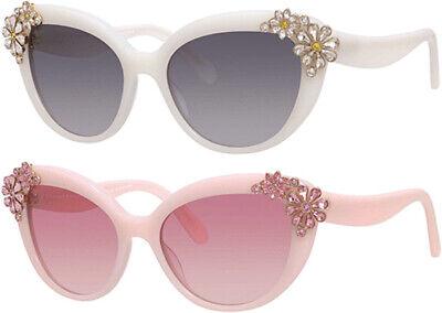 Kate Spade Karyna Women's Crystal Accented Cat-Eye Sunglasses w/ Gradient (Kate Spade Eyes)