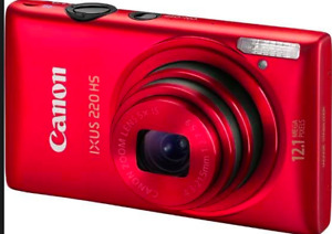Canon Powershot ixus 220 hs - without charger