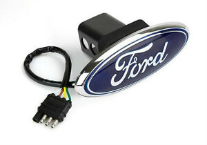 Couvert d'attelage illumimé / hitch cover  Ford Oval