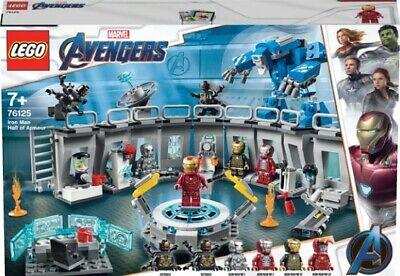 Lego 76125 Marvel Avengers Endgame Avengers Ironman Hall of Armor Set