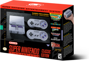Super Nintendo Classic, new in box from EB games