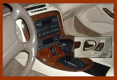 DASH TRIM KIT CAR FIT LINCOLN MARK 8 VIII 1993-94 NEW INTERIOR PANEL WOOD CARBON 8 Dash Kit
