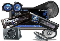 CAR AUDIO...SPEAKERS...AMPS...DOUBLE DIN...LED..HID INSTALLATION