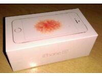 iPhone SE brand new sealed rose gold