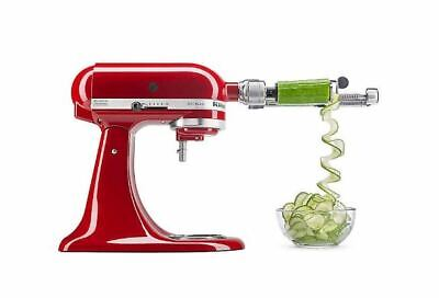 KitchenAid 7-Blade Spiralizer Stand Mixer Attachment KSM1APC & KSMAPC1AP 2 Extra